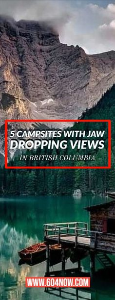 is one of the most beautiful places in the world. And as the weather warms up its the perfect time to explore the most breathtaking in the province. Kayak Camping, Camping Places, Campsite, Places To Travel, Places To Visit, Camping Hammock, Camping 101, Vancouver, Canada Destinations