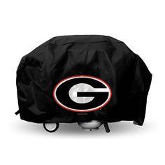 Georgia Bulldogs NCAA Economy Barbeque Grill Cover
