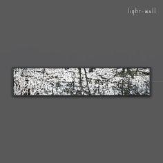 brand-new brand | super flat & dimmable dutch light design by light wall. nieuw licht voor je living, lobby of lounge. Dimbare wandlamp van Light Wall in kleine oplage. 30 x 120 cm.