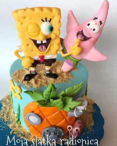 Sponge Bob Cake by Branka Vukcevic