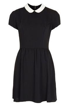 Topshop 'Florence' Peter Pan Collar Dress | Nordstrom