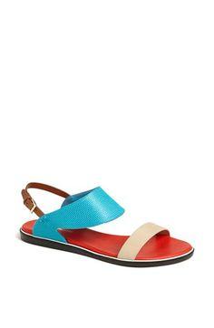 Nicholas Kirkwood 'Flat' Sandal available at #Nordstrom
