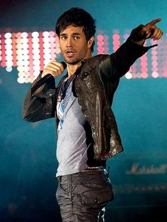 Enrique Iglesias... Okay, you're pretty hot