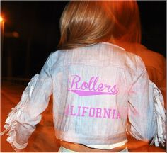 """Rollers in California 70's"" by Nadine Valls, via Behance"