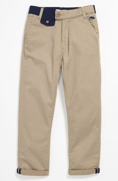 For Des for school next year. I think he deserves one outrageously priced item. LITTLE MARC JACOBS Stretch Gabardine Pants (Big Boys)   Nordstrom