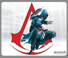 Tapis de Souris Assassin's Creed Altair et Symbole des Assassins - 6.99€ - #Logostore