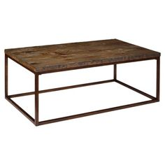 I pinned this Magnussen Pinecrest Coffee Table from the Aspen Lodge event at Joss and Main