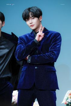 """rowoon pics #sf9 on Twitter: """"200117 © gotta be you he's wearing tiny stars in his suit ‧ ₊ ˚ ⋆ #로운 #ROWOON #SF9 @SF9official… """" Kang Chan Hee, Chani Sf9, Sf 9, Zodiac Signs Leo, Tiny Star, Bae, Dancer, Korea, Stars"""