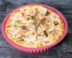 Quiche sans pâte au brocoli et saumon au thermomix. Voici une délicieuse recette de Quiche sans pâte au brocoli et saumon, simple et facile à réaliser.