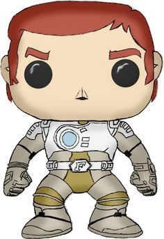 Captain Future Funko Pop! Custom Artwork