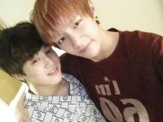 Taehyung and Jimin<3