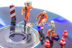 cleaning the data Royalty Free Stock Photo