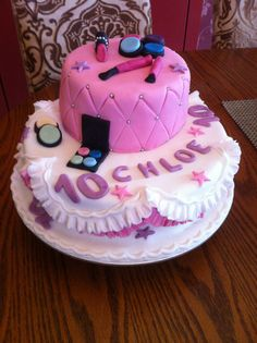 Hello kitty cake girls cake birthday cake double tier cake cake