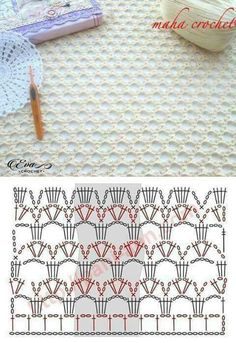 Good Photos Crochet Stitches chart Ideas While Daisy Town Projects is maintaining growth, I receive lots of email messages as well as questions about e. Crochet Stitches Chart, Crochet Motifs, Crochet Diagram, Stitch Patterns, Knitting Patterns, Crochet Patterns, Afghan Patterns, Knitting Yarn, Love Crochet