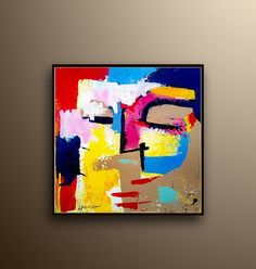 Face Painting Large Painting Large art Acrylic painting