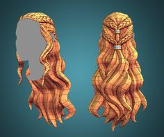 ArtStation - Plotagon Character Creator asset: hair, Josefine Behm