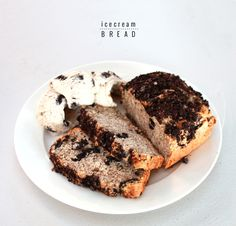 Make your own Ice Cream Bread | www.highwallsblog.com