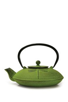 Primula Green Cast Iron Teapot