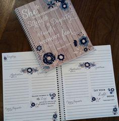 Prayer+Journal+Jesus+Bible+Journaling+Journal+by+PaperDollPrinting