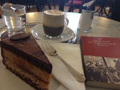 Cafe Griensteidl, Vienna. Coffee, cake, and Joseph Roth.