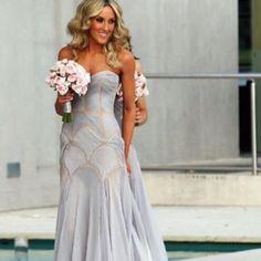 J Aton Bridesmaid dress