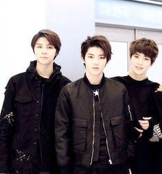 Johnny, Taeyong and Jaehyun  #SMROOKIES