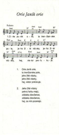 Orie Janík orie Sheet Music, Train, Music Sheets