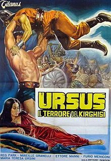 Italian movie poster image for Ursus, il terrore dei kirghisi The image measures 320 * 480 pixels and is 40 kilobytes large. Turner Classic Movies, Classic Films, Epic Movie, Film Movie, College Books, Disney Enchanted, Best Horror Movies, Best Horrors, Fantasy Movies
