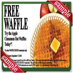 Printable waffle house Coupon June 2015
