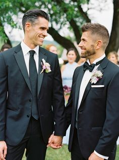 Dapper summer grooms: http://www.stylemepretty.com/2016/07/11/a-laid-back-wedding-with-so-much-heart-see-why-we-adore-these-grooms/ | Photography: Kristin Sweeting - http://www.kristinsweeting.com/