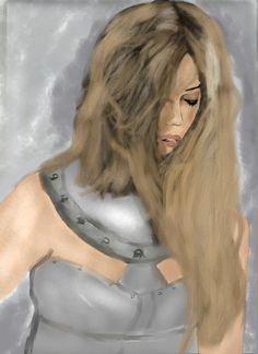 Portret wojowniczki