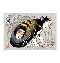 Monmon Cat Spider By Horitomo