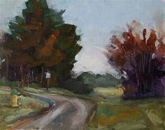 "Daily Paintworks - ""Morning at Chatham"" - Original Fine Art for Sale - © Carol Josefiak"
