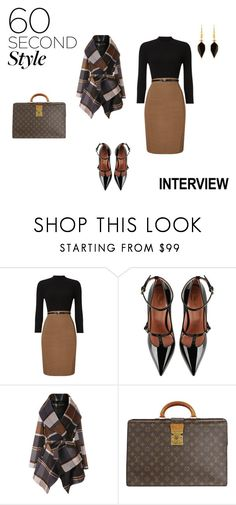 """Dream Job  Interview"" by pkgabriel on Polyvore featuring Phase Eight, RED Valentino, Chicwish, Louis Vuitton, Isabel Marant, jobinterview and 60secondstyle"