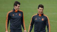 052014-Ronaldo-Bale-PI-2.vadapt.955.medium.23 Ronaldo Bale, Gareth Bale, World Star, Cristiano Ronaldo, Champions League, Welsh, Real Madrid, Motorcycle Jacket, Stars