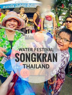 To celebrate the traditional New Year, Thailand's crazy Songkran water festival is held every April all over the country. But the best place to be is Chiang Mai.