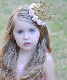 Look what I found on #zulily! Gold & Pink Rose Sienna Crown #zulilyfinds