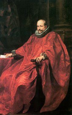 Anton van Dyck -Portrait of cardinal Agostino Pallavicini, 2nd half of XVII cent.jpg