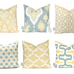 grey blue sage accent pillow - Google Search