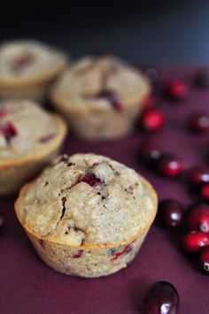 Facebook Twitter Google+ Pinterest Combine the seasonal ingredients of cranberries and eggnog into one delightful holiday muffin. Textured with walnuts and oats, and spiced with flavorsome cinnamon and nutmeg, these muffins are wholesome and festive. Ingredients: 2 cups cranberries 1/2 cup sugar 3 cups flour 1 cup Coach's Oats® 1/2 cup sugar 4 tsp baking …