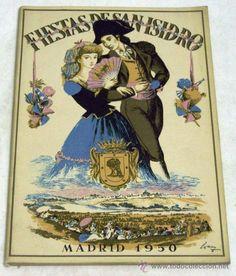 PROGRAMA FIESTAS DE SAN ISIDRO MADRID 1950 (Coleccionismo - Carteles Pequeño Formato)