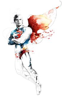 DC COMICS by david despau, via Behance