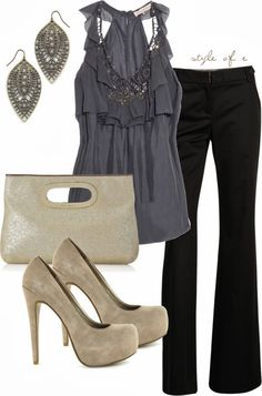 Work Outfit ideas Outfits for Men Outfit Work Attire Style Outfits, Mode Outfits, Casual Outfits, Fashion Outfits, Womens Fashion, Fashion Trends, Fashionista Trends, Outfit Styles, Night Outfits