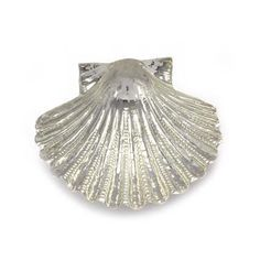 Pillgrim shell in sterling silver. Handmade in Galicia with traditional methods. Artcraft of The Way of St.James. Tax free $44.90