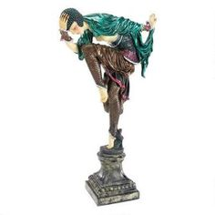 Ankara Dancer Full Color Sculpture Was: $59.95           Now: $49.95