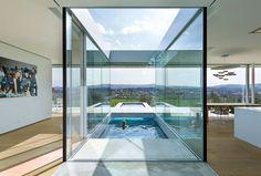 Villa K en Alemania - Terraza en U   Galería de fotos 6 de 13   AD MX
