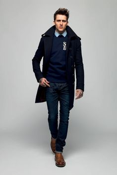 A fall '13 look from Superdry.