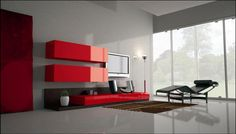 contemporary wall units - Google Search
