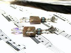 AfricanOnyx Earrings Gemstone Jewelry Jewelry for by LunaEssence