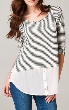 Milla Top in Classic Stripe